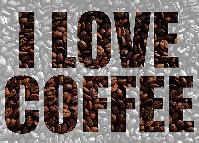 i love coffee sign