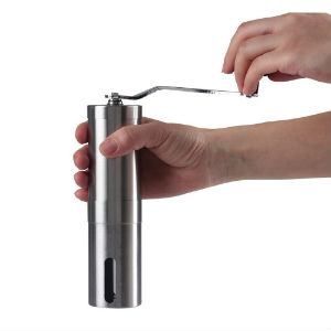 stainless steel hand grinder