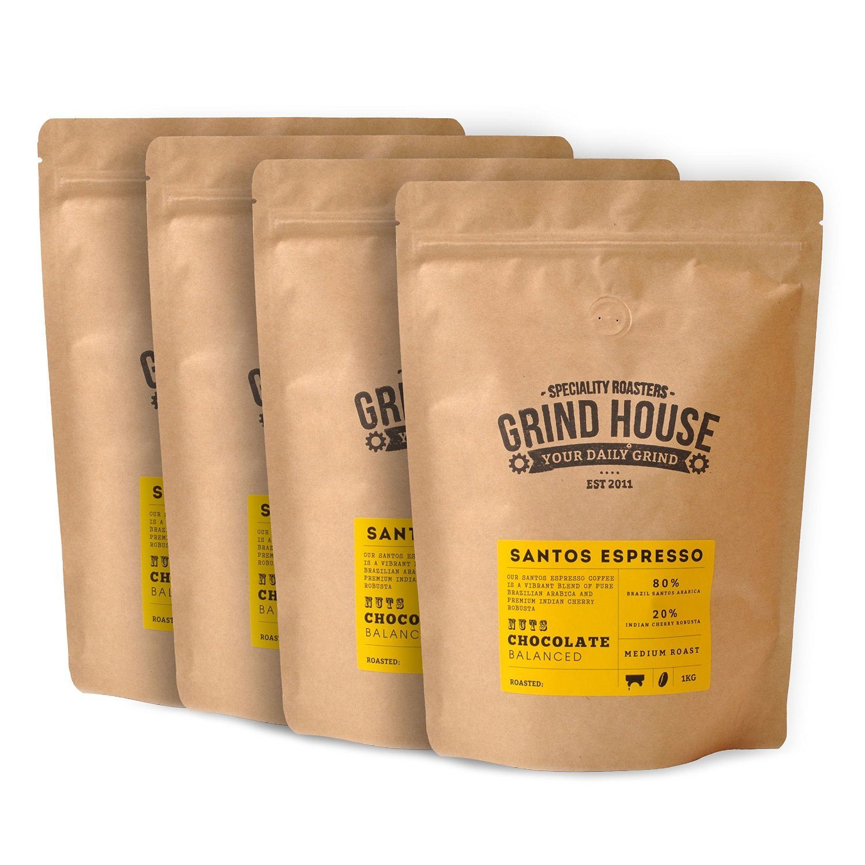 Grind House Santos Espresso Coffee Beans