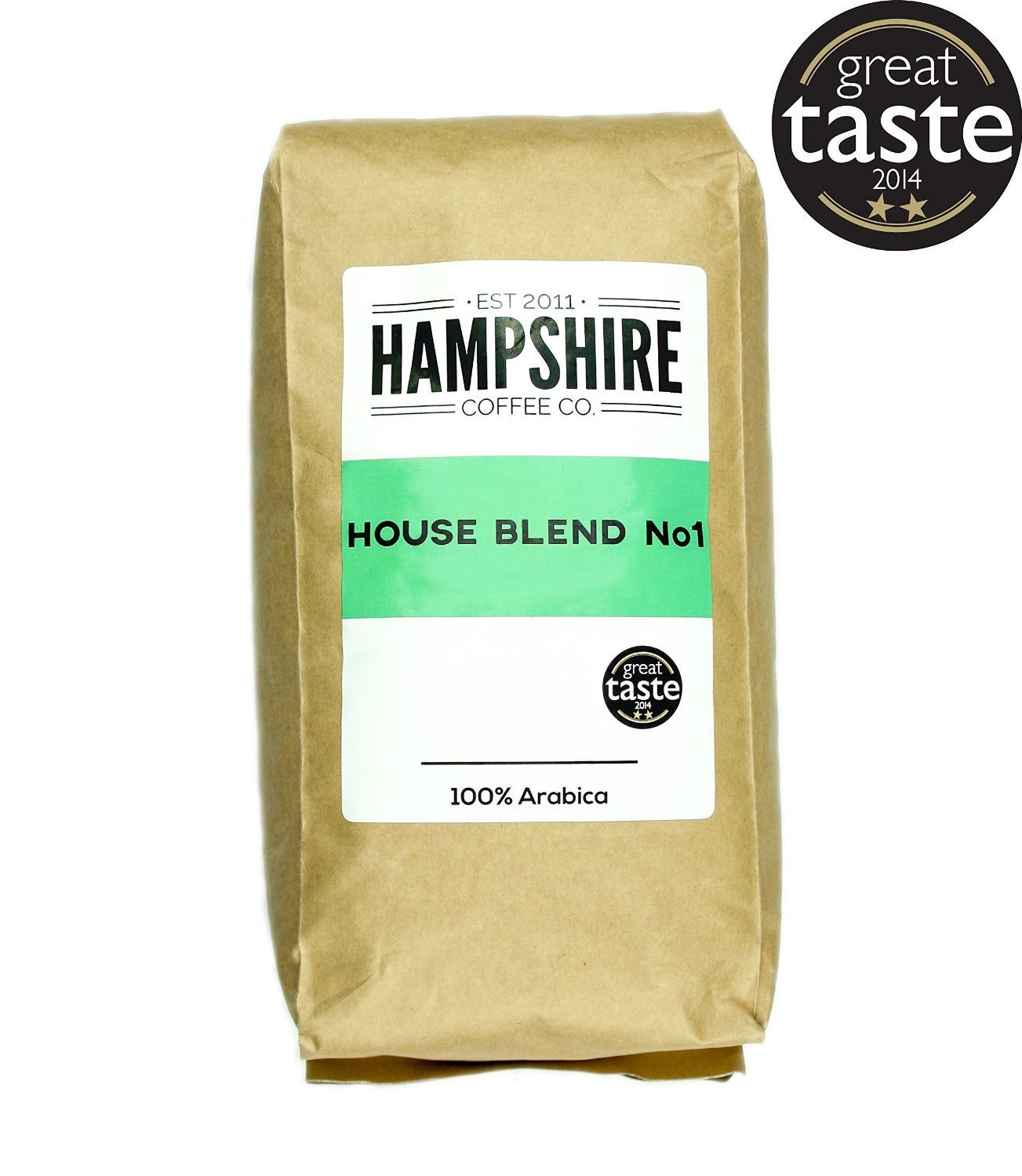 Hampshire Coffee Co - House Blend No 1- Great Taste Award Winner