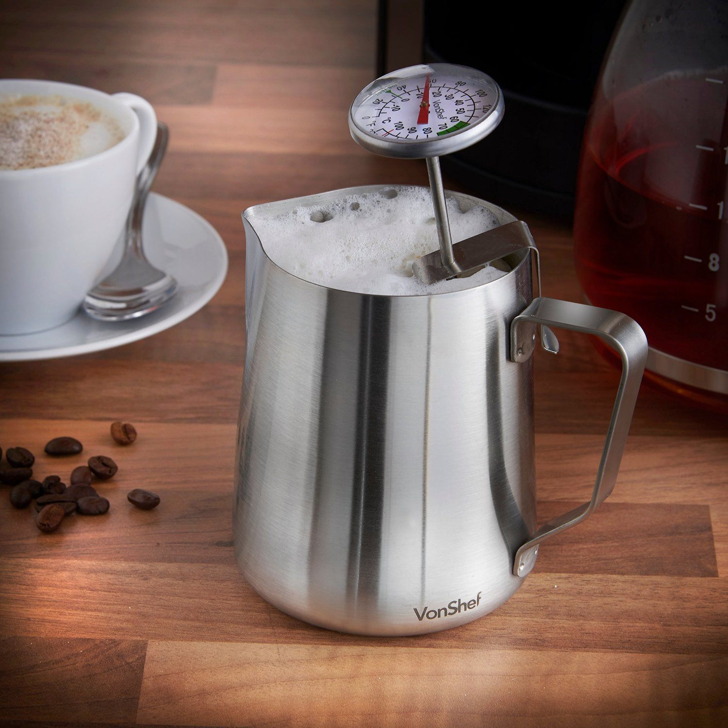 Best Milk Frothing Jug Reviews 2018 For Steamed Milk And