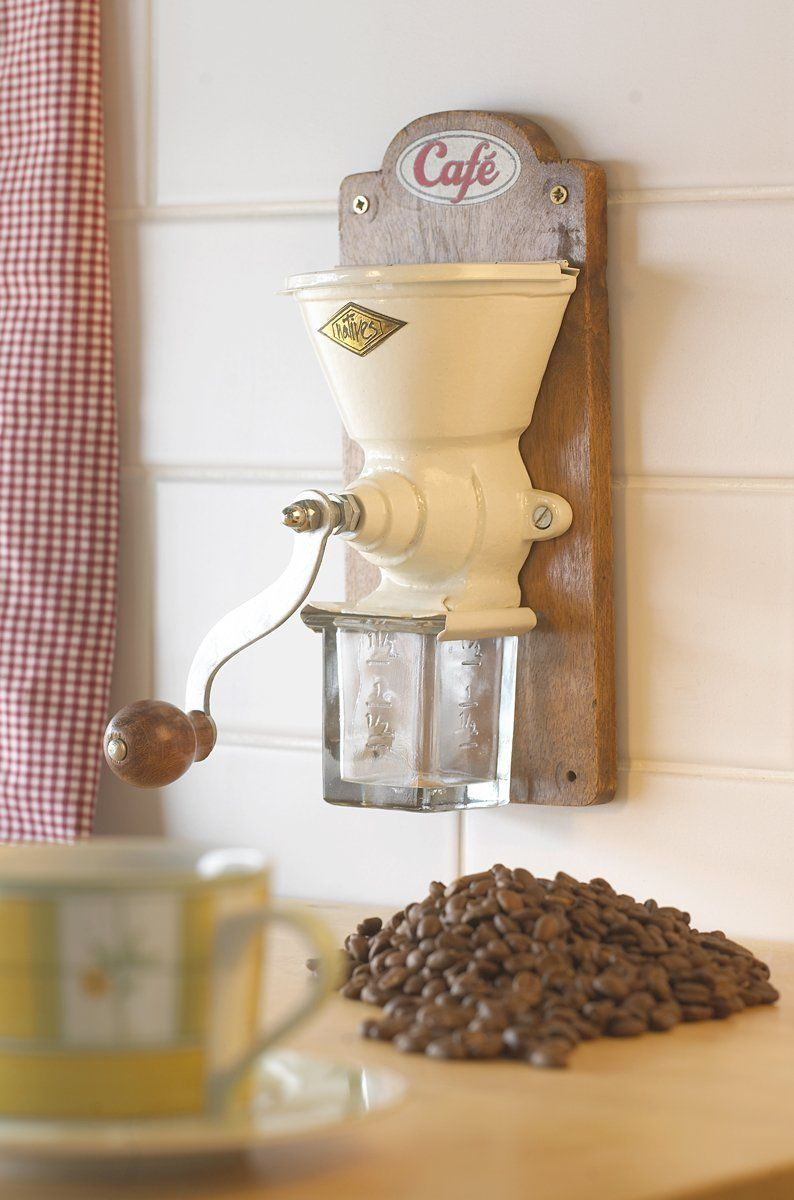 wall mounted coffee grinder