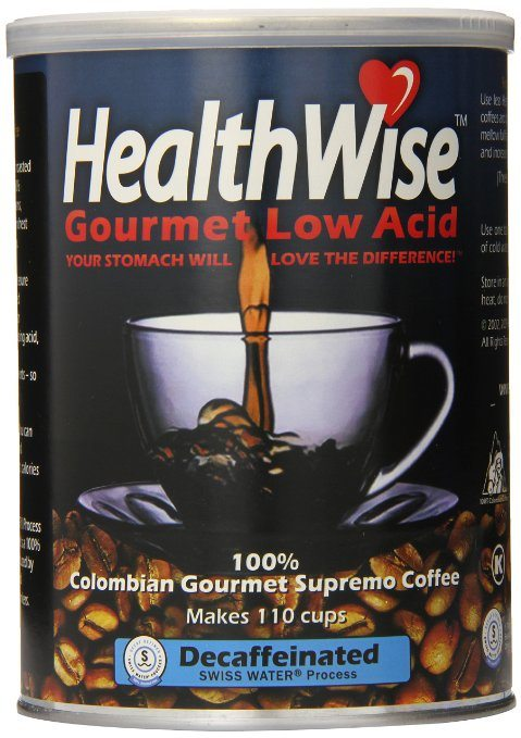 Healthwise Low Acid Columbian Gourmet Supremo Coffee