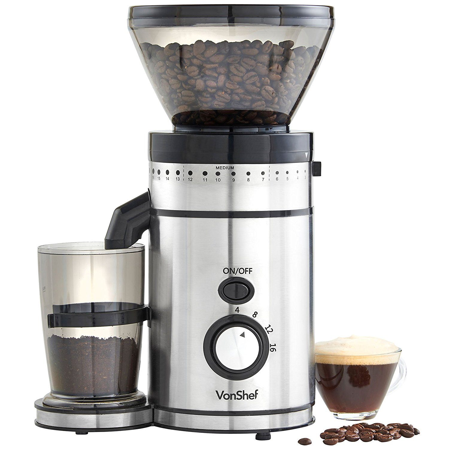 Vonshef Premium Burr Coffee Grinder Review The Perfect Grind