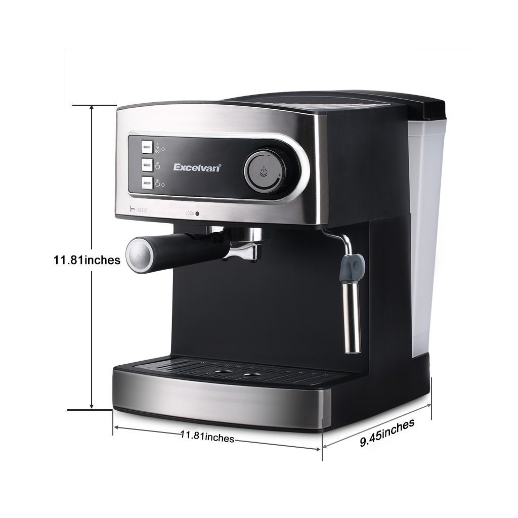 Italian Espresso Machines ~ Excelvan coffee machine review the perfect grind