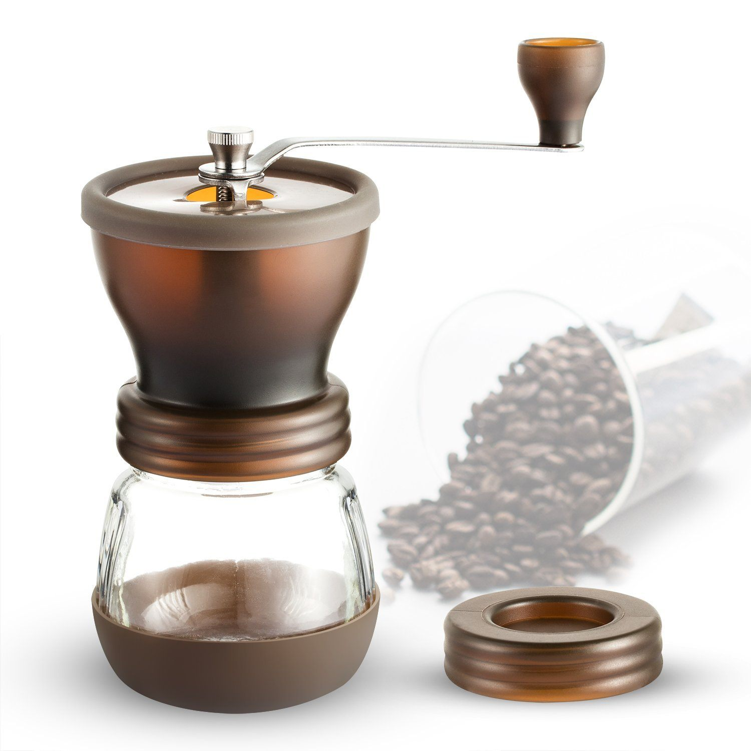 Hand Coffee Grinder ~ Coolife burr hand coffee grinder review the perfect grind