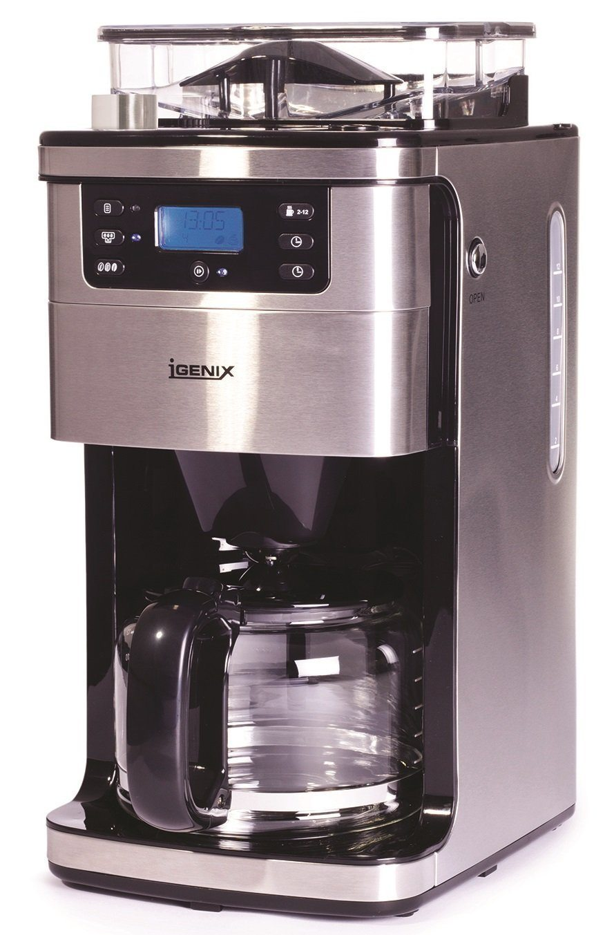 Igenix Ig8225 Bean To Cup Filter Coffee Maker Uk Review 2019