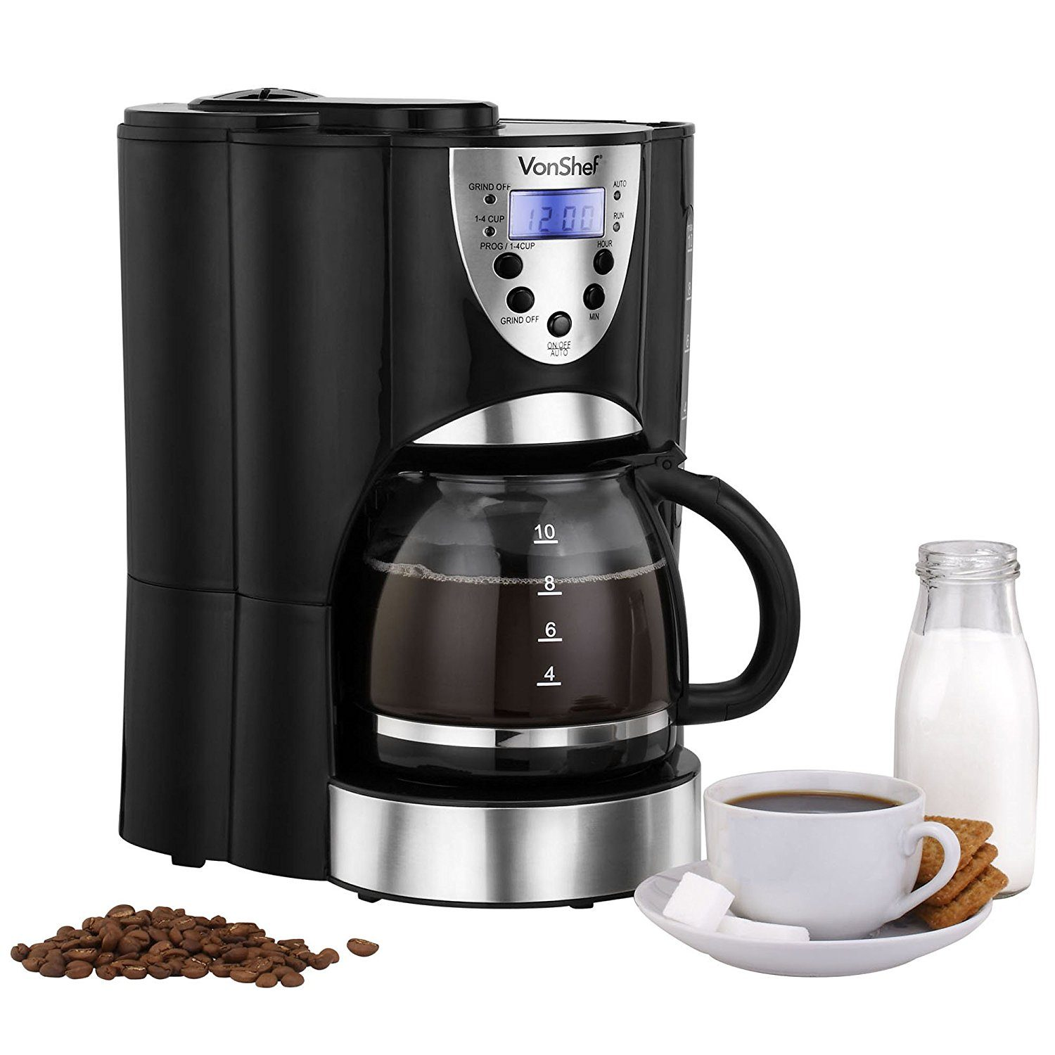 VonShef Digital Filter Coffee Maker