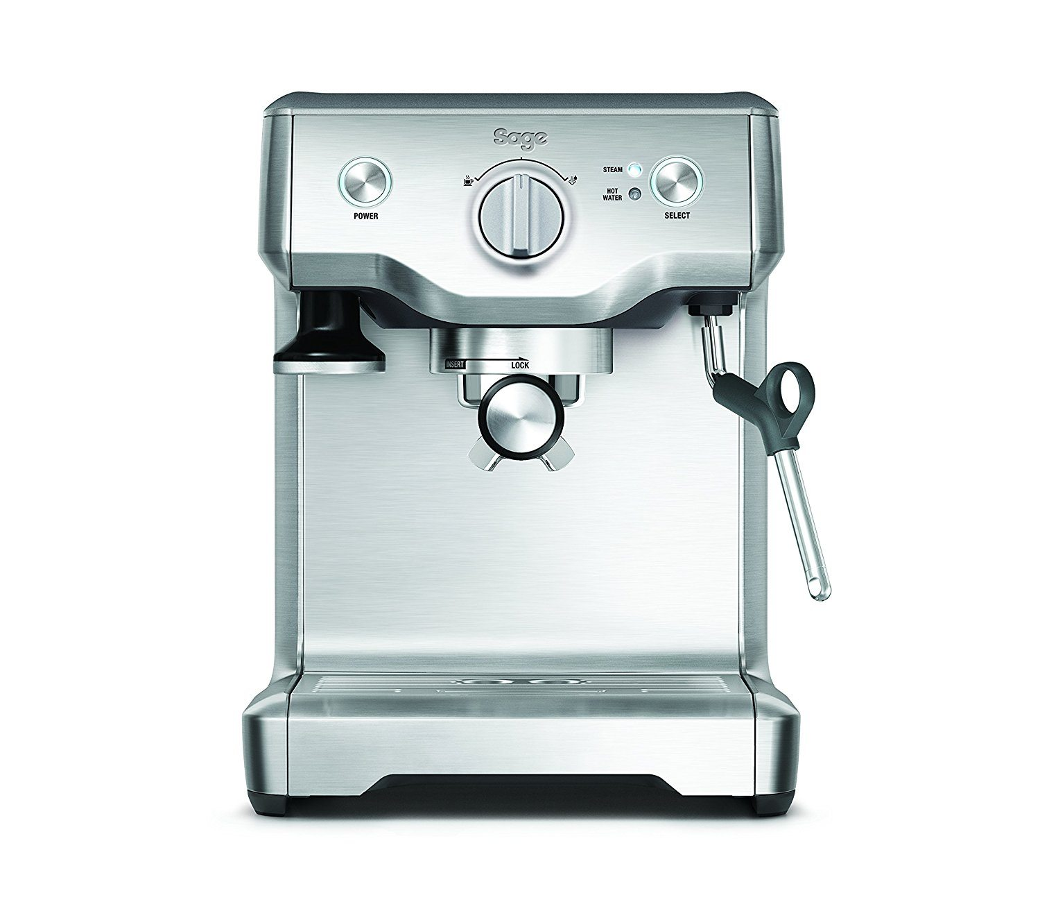 Sage by Heston Blumenthal BES810BSS the Duo Temp Pro Espresso Machine - Silver