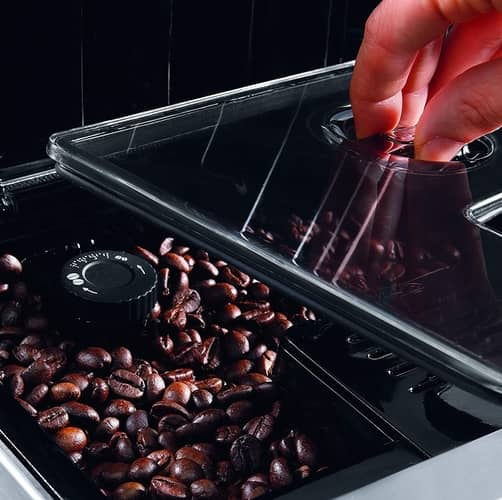bean to cup built in coffee grinder